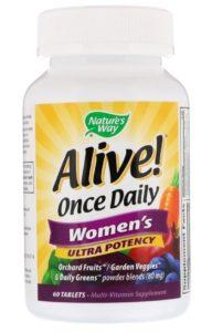 Aliveのマルチビタミン女性用