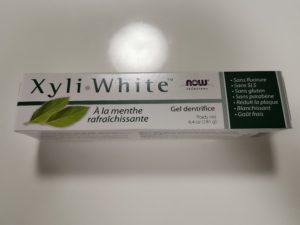 こちらはXyli-WhiteというNow Foods社が出している歯磨き粉です